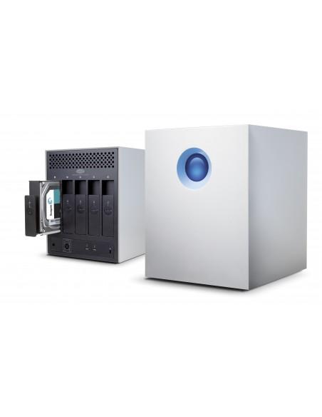 LaCie 5big Thunderbolt 2 levyjärjestelmä 20 TB Työpöytä Alumiini Lacie STFC20000400 - 2