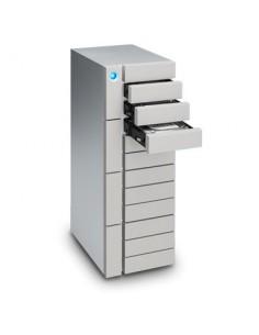 LaCie 12big Thunderbolt 3 levyjärjestelmä 120 TB Työpöytä Hopea Lacie STFJ120000400 - 1