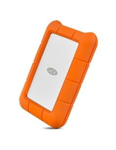 LaCie Rugged USB-C ulkoinen kovalevy 2000 GB Oranssi, Hopea Lacie STFR2000800 - 1