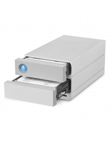 LaCie 2big Dock Thunderbolt 3 16TB levyjärjestelmä Työpöytä Hopea Lacie STGB16000400 - 2