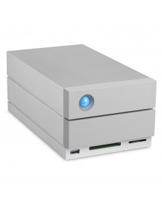 LaCie 2big Dock Thunderbolt 3 levyjärjestelmä 20 TB Työpöytä Harmaa Lacie STGB20000400 - 1