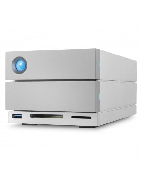 LaCie 2big Dock Thunderbolt 3 levyjärjestelmä 20 TB Työpöytä Harmaa Lacie STGB20000400 - 5