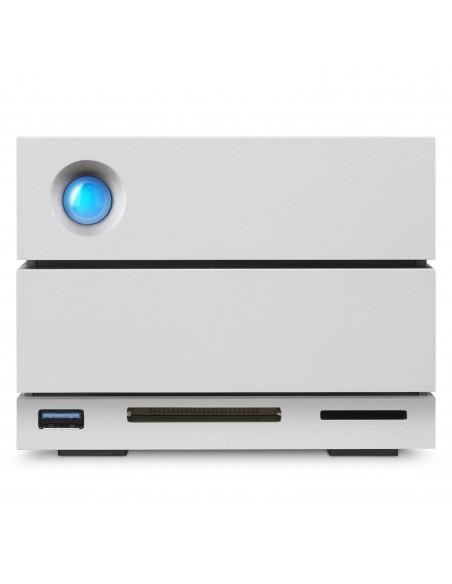 LaCie 2big Dock Thunderbolt 3 levyjärjestelmä 20 TB Työpöytä Harmaa Lacie STGB20000400 - 6