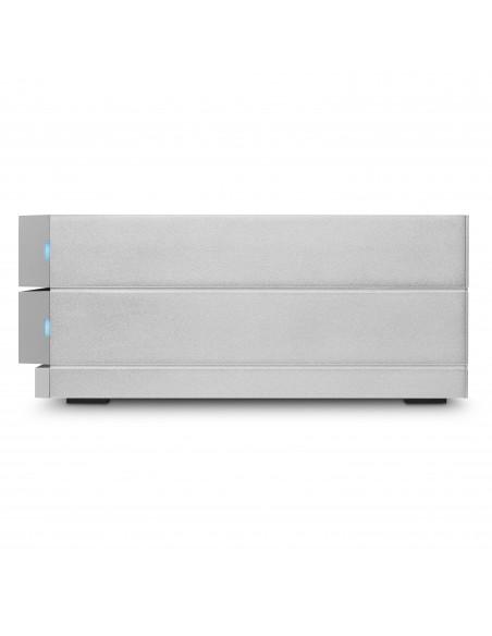 LaCie 2big Dock Thunderbolt 3 levyjärjestelmä 8 TB Työpöytä Harmaa Lacie STGB8000400 - 2