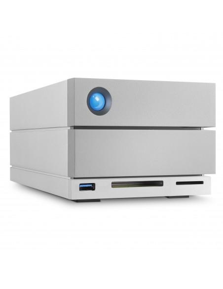 LaCie 2big Dock Thunderbolt 3 levyjärjestelmä 8 TB Työpöytä Harmaa Lacie STGB8000400 - 4