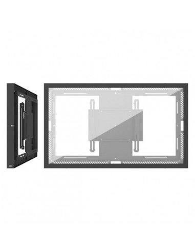 """SMS Smart Media Solutions 55L/P Casing Wall G2 BL 139.7 cm (55"""") Black Sms Smart Media Solutions 701-004-12 - 1"""