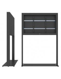 """SMS Smart Media Solutions 49L Casing Freestand Basic G1 BL 124.5 cm (49"""") Black Sms Smart Media Solutions 702-005-11 - 1"""