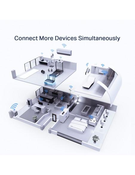 TP-LINK Archer AX50 langaton reititin Kaksitaajuus (2,4 GHz/5 GHz) Gigabitti Ethernet Musta Tp-link ARCHER AX50 - 5