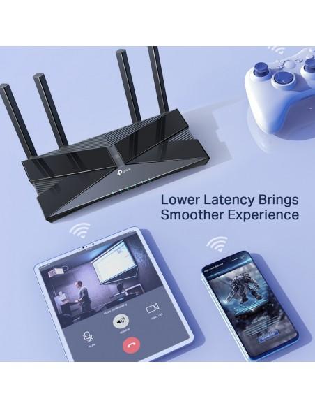 TP-LINK Archer AX50 langaton reititin Kaksitaajuus (2,4 GHz/5 GHz) Gigabitti Ethernet Musta Tp-link ARCHER AX50 - 6