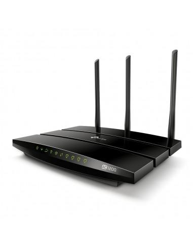 TP-LINK Archer VR400 langaton reititin Kaksitaajuus (2,4 GHz/5 GHz) Gigabitti Ethernet Musta Tp-link ARCHER-VR400 - 1