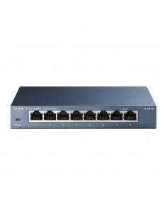 TP-LINK TL-SG108 verkkokytkin Hallitsematon L2 Gigabit Ethernet (10/100/1000) Musta Tp-link TL-SG108 - 1