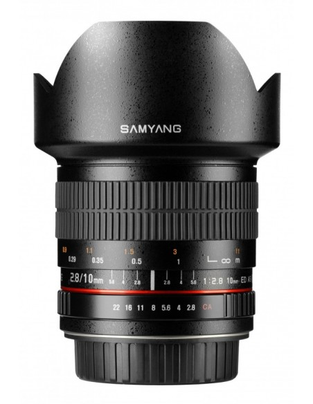 Samyang 10mm f/2.8 ED AS NCS CS Musta Samyang 21511 - 3