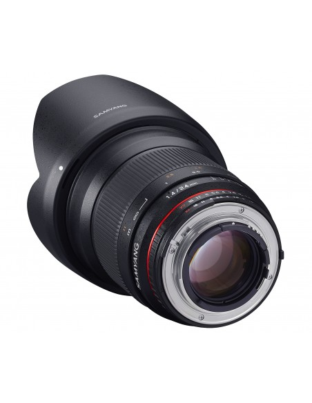 Samyang 24mm F1.4 ED AS IF UMC, Nikon AE SLR Laajakulmaobjektiivi Musta Samyang 21514 - 4