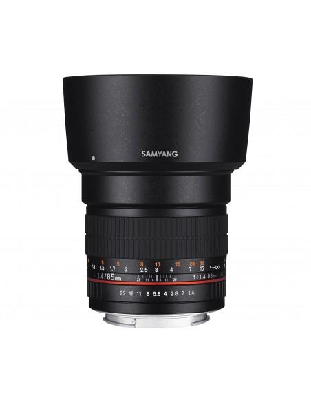 Samyang 85mm F1.4 AS IF UMC SLR Musta Samyang 21553 - 4