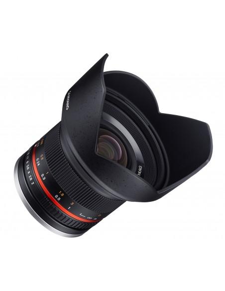 Samyang 12mm F2.0 NCS CS SLR Laajakulmaobjektiivi Musta Samyang 21572 - 3