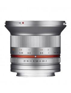 Samyang 12mm F2.0 NCS CS SLR Laajakulmaobjektiivi Hopea Samyang 21573 - 1
