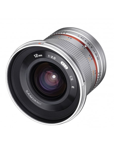 Samyang 12mm F2.0 NCS CS SLR Laajakulmaobjektiivi Hopea Samyang 21575 - 3
