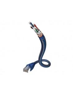 Inakustik 00480302 verkkokaapeli 2 m Cat6 SF/UTP (S-FTP) Sininen/hopea In - Akustik 00480302 - 1