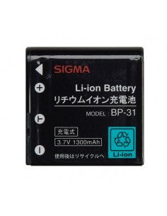 Sigma Lithium-ion Battery BP-31 Litiumioni (Li-Ion) Sigma D00018 - 1