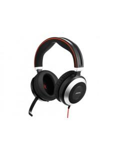 Jabra Evolve 80 MS Stereo Kuulokkeet Pääpanta Musta Jabra 7899-823-109 - 1