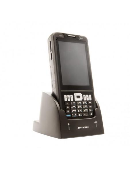 """Opticon H-22 2D mobiilitietokone 9.4 cm (3.7"""") 480 x 640 pikseliä Kosketusnäyttö Musta Opticon 12757 - 3"""