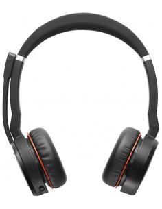 Jabra Evolve 75 MS Stereo Kuulokkeet Pääpanta Musta, Punainen Gn Netcom 7599-832-109 - 1