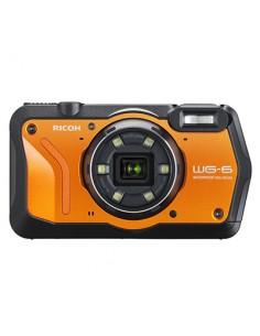 "Ricoh WG-6 Kompakti kamera 20 MP CMOS 3840 x 2160 pikseliä 1/2.3"" Musta, Oranssi Ricoh 3852 - 1"