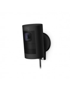 Ring Stick Up Cam Wired IP-turvakamera Sisätila ja ulkotila Laatikko Ceiling/Wall/Desk Ring 8SS1E8-BEU0 - 1