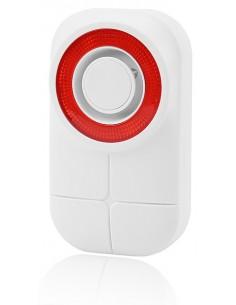 Olympia 6109 sireeni Wireless siren Ulkona Punainen, Valkoinen Olympia 6109 - 1