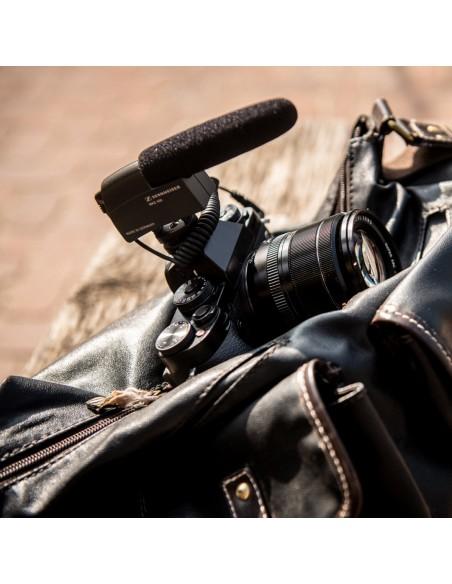 Sennheiser MKE 400 Digital camcorder microphone Musta Sennheiser 502047 - 7