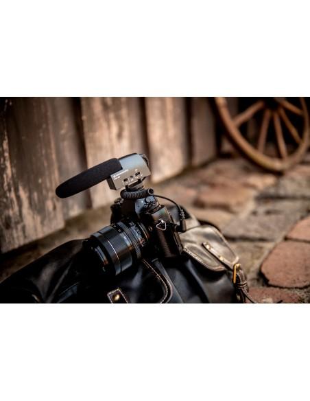 Sennheiser MKE 400 Digital camcorder microphone Musta Sennheiser 502047 - 12