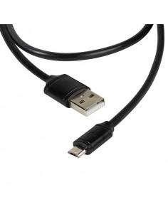 Vivanco Micro USB 2.0 USB-kaapeli 2 m A Micro-USB B Musta Vivanco 36292 - 1