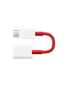 OnePlus 0202003601 USB-kaapeli 0.11 m USB B C Punainen, Valkoinen Oneplus 0202003601 - 1