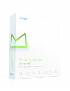 Sophos Email Protection - Advanced, RNW, 5-9u, 24m Uusiminen Sophos MPAD2CTAA - 1
