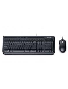 Microsoft 600 keyboard USB QWERTZ German Black Microsoft 3J2-00013 - 1