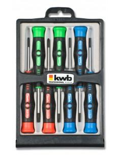 kwb 146200 käsikäyttöinen ruuvimeisseli Setti Tarkkuusruuvimeisseli Kwb 146200 - 1