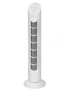Clatronic T-VL 3546 valkoinen Tuulettimen torni 55 W (L x K) 22 cm x 75,5 cm Clatronic 283043 - 1
