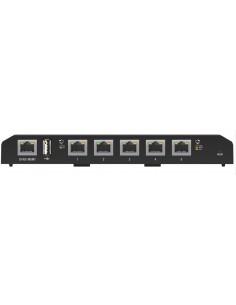 Ubiquiti Networks EdgeSwitch 5XP Hallittu Gigabit Ethernet (10/100/1000) Musta Power over -tuki Ubiquiti Networks Inc. ES-5XP -
