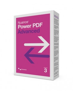 Nuance Power PDF 3.0 Advanced 1 lisenssi(t) Saksa, Hollanti, Englanti, Ranska Nuance LIC-AV09Z-W00-3.0-A - 1