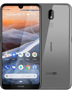 "Nokia 3.2 15,9 cm (6.26"") 2 GB 16 Kaksois-SIM Harmaa 4000 mAh Nokia 719901071351 - 1"