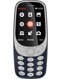 "Nokia 3310 6.1 cm (2.4"") Musta, Sininen Nokia A00028090 - 1"