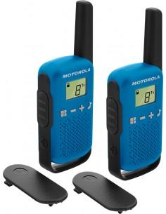 Motorola TALKABOUT T42 radiopuhelin 16 kanavaa Musta, Sininen Motorola 188117 - 1