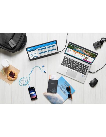 HP USB-C Mini Wired USB 3.2 Gen 1 (3.1 1) Type-C Black Hp 1PM64AA#AC3 - 4