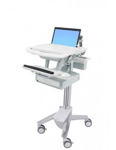 Ergotron StyleView Aluminium, Grey, White Notebook Multimedia cart Ergotron SV43-1110-0 - 1