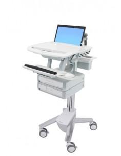 Ergotron StyleView Aluminium, Grey, White Notebook Multimedia cart Ergotron SV43-1120-0 - 1