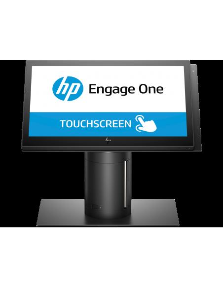 "HP Engage One 143 All-in-One 2.4 GHz i3-7100U 35.6 cm (14"") 1920 x 1080 pikseliä Kosketusnäyttö Musta Hp 6TP98EA#UUW - 12"