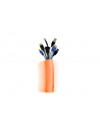 Multibrackets 4559 kabelsamlare Kabelstrumpa Orange 1 styck Multibrackets 7350073734559 - 1