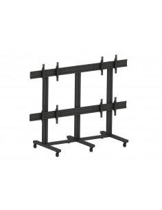 "Multibrackets M Public Video Wall Stand 4-Screens 65-75"" Black Multibrackets 7350073737192 - 1"