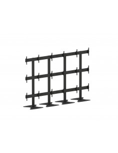"Multibrackets M Public Video Wall Stand 9-Screens 65-75"" Black Multibrackets 7350073737253 - 1"