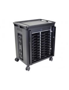 HP 20 Mgd Charging Cart V2 Musta Kannettava tietokone Multimediakärry Hp T9E83AA#ABB - 1